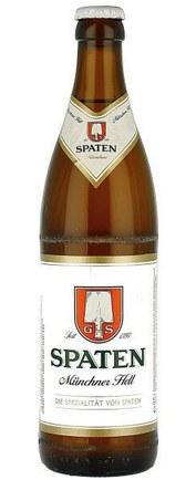 Бутылка Spaten Munchen Hell
