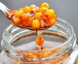 Ингредиенты для облепиховой настойка на меду