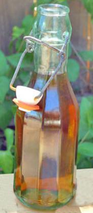 Бутылка настойки на миндале
