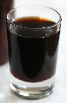 Рюмка кофейной настойки