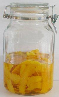 Настойка на апельсиновых корках на спирту