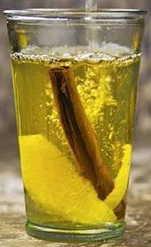 Алкогольный белый глинтвейн