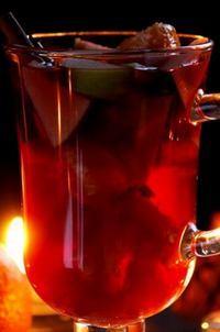 Яблочно-медовый глинтвейн