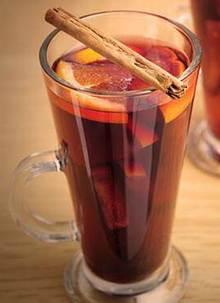 Глтинтвейн с чаем