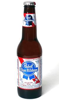Пиво Pabst Blue Ribbon 1844