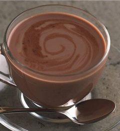 Горячий шоколад с бренди