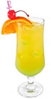 Крепкий коктейль Сок джунглей
