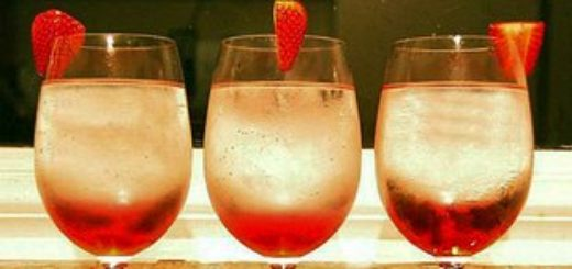 Три коктейля с вином