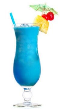 Домашний коктейль Голубые Гавайи