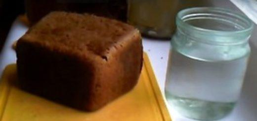 Очистка самогона ржаным хлебом в домашних условиях