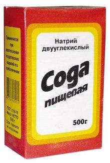 Пищевая сода для очистки самогона от запаха