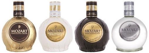4 бутылки ликера Моцарт