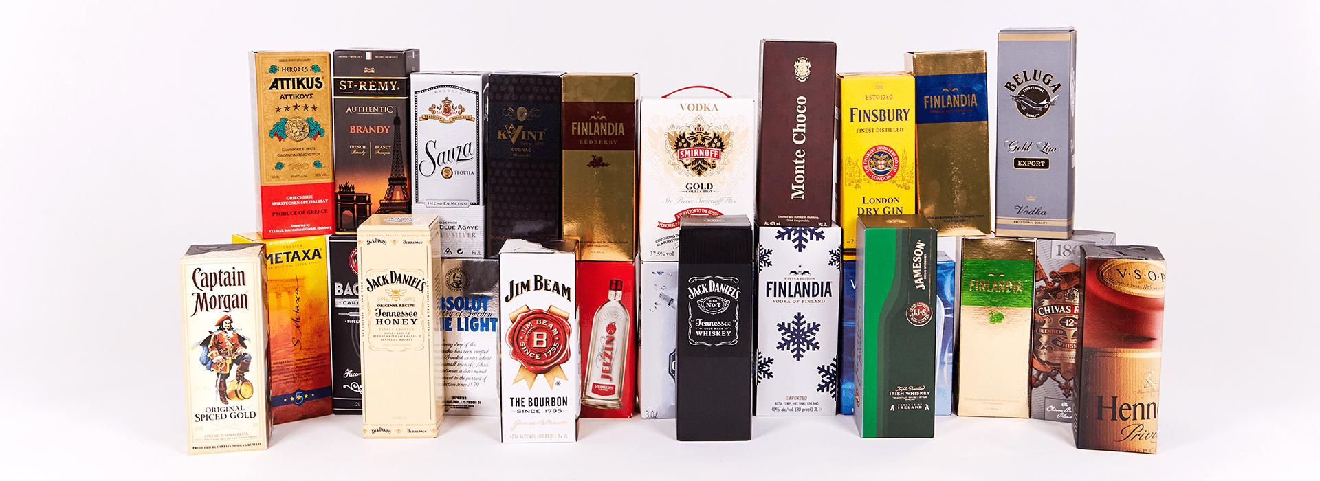Алкоголь элитных марок в тетрапак